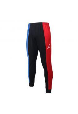 Мужские спортивные штаны черные с красно-синими полосами ФК ПСЖ