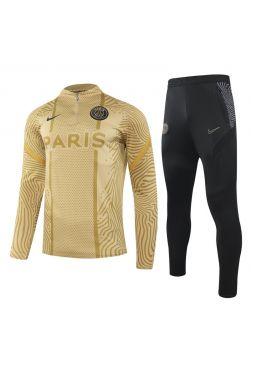 Спортивный костюм золото-черный ПСЖ