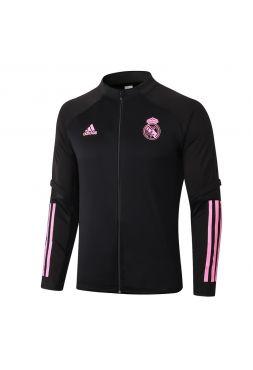 Мужская спортивная олимпийка черно-розовая ФК Реал Мадрид
