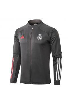 Мужская спортивная олимпийка серая ФК Реал Мадрид
