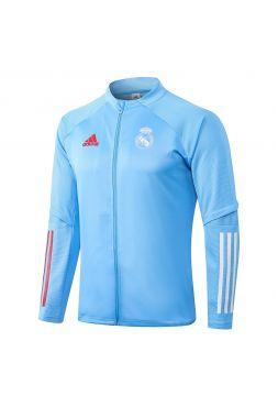 Мужская спортивная олимпийка голубая ФК Реал Мадрид