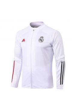 Мужская спортивная олимпийка белая ФК Реал Мадрид