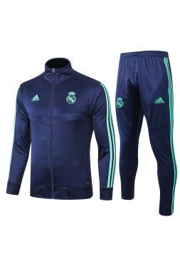 Спортивный костюм темно-синий Реал Мадрид с молнией