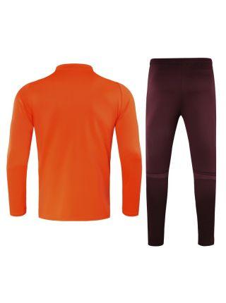 Спортивный костюм оранжево-бордовый Реал Мадрид