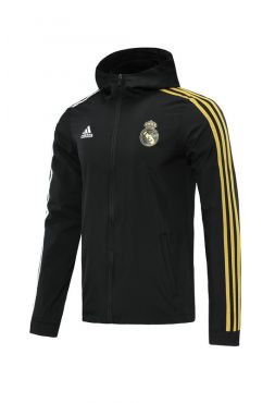 Ветровка черно-золотая Реал Мадрид