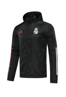 Ветровка черно-красная Реал Мадрид