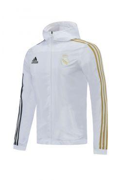 Ветровка бело-золотая Реал Мадрид