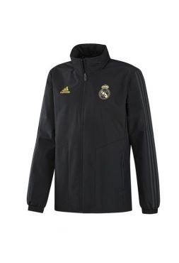 Ветровка черная Реал Мадрид