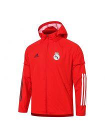 Мужская спортивная ветровка красная ФК Реал Мадрид