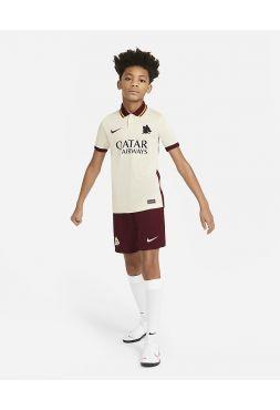 Футбольная форма детская гостевая Рома 2020-2021
