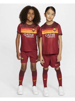 Футбольная форма детская домашняя Рома 2020-2021