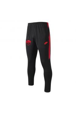Мужские спортивные штаны черно-красные ФК Рома