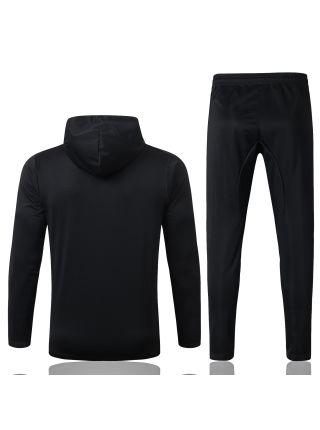 Спортивный костюм черный Рома с капюшоном