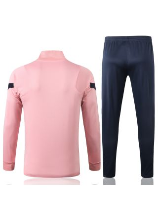 Спортивный костюм розово-черный Тоттенхэм Хотспур с молнией