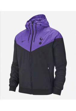 Ветровка черно-фиолетовая Тоттенхэм Хотспур