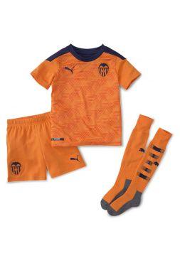 Футбольная форма детская гостевая Валенсия 2020-2021