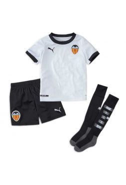Футбольная форма детская домашняя Валенсия 2020-2021