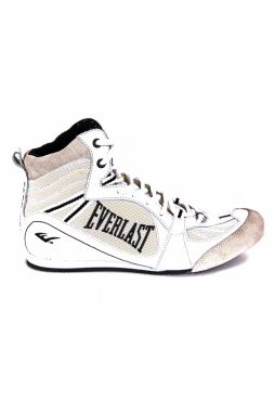 Боксерки Everlast Low-Top Competition белые