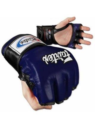 Перчатки MMA FAIRTEX FGV12 синие