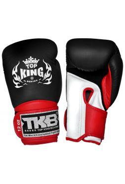 Боксерские перчатки Top King TKBGSA-123 красно-черные