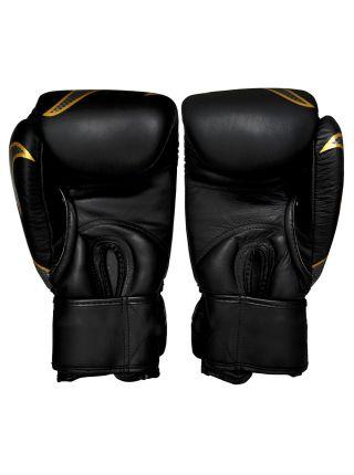 Боксерские перчатки Top King TKBGEM-01 черные на липучке