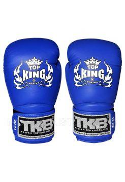 Боксерские перчатки Top King TKBGSA-444 синие на липучке