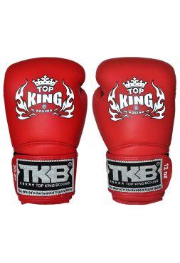 Боксерские перчатки Top King TKBGSA-333 красные на липучке