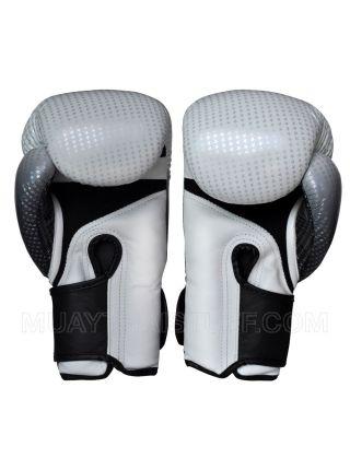 Боксерские перчатки Top King Super Star Air серебряные