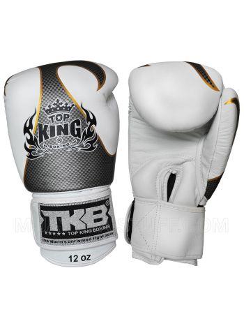 Боксерские перчатки Top King TKBGEM01-WH белые