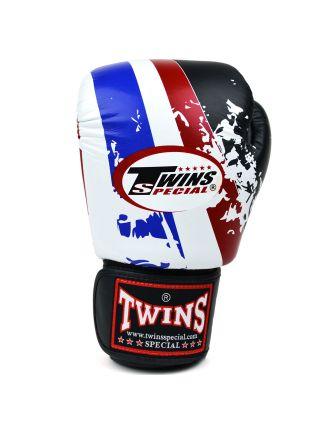 Боксерские перчатки TWINS Thailand FBGV-44th на липучке