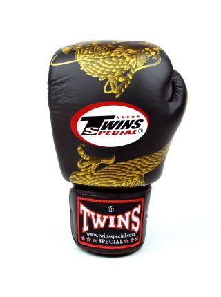 Боксерские перчатки TWINS FBGV-23 черные
