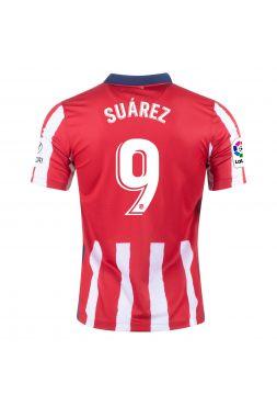 Футболка домашняя Атлетико Мадрид 2020-2021 Suarez 9 (Луис Суарес)