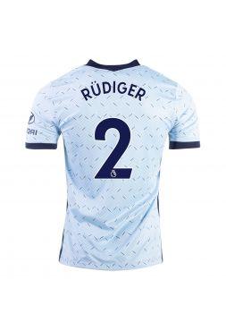 Футболка гостевая Челси 2020-2021 Rudiger 2 (Рюдигер)