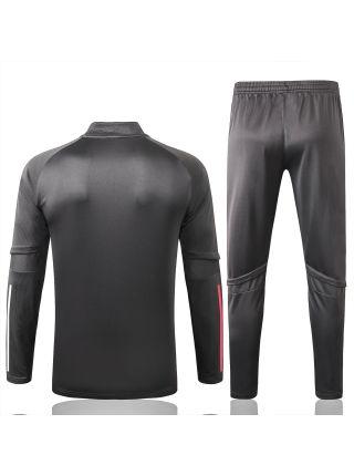 Спортивный костюм темно-серый Реал Мадрид с молнией