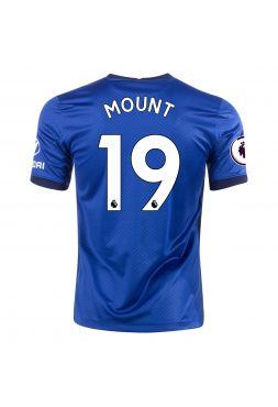 Футболка домашняя Челси 2020-2021 Mount 19 (Мейсон Маунт)