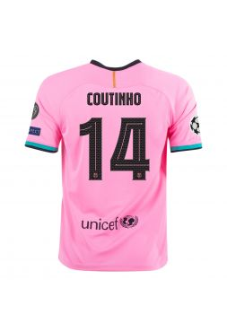 Футболка резервная Барселоны 2020-2021 Coutinho 14 (Коутиньо)