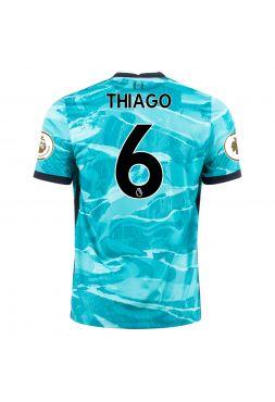 Футболка гостевая Ливерпуль 2020-2021 Thiago 6 (Тьяго Алькантара)