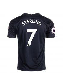 Футболка гостевая Манчестер Сити 2020-2021 Sterling 7 (Рахим Стерлинг )