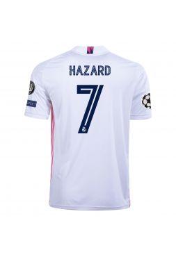 Футболка домашняя Реал Мадрид 2020-2021 Hazard 7 (Эден Азар)