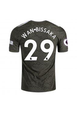 Футболка гостевая Манчестер Юнайтед 2020-2021 Wan Bissaka 29 (Эрон Уан-Биссака)