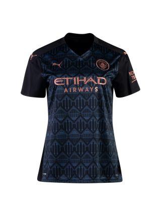 Футболка женская гостевая Манчестер Сити 2020-2021 Me Wis 22 (Саманта Мьюис)