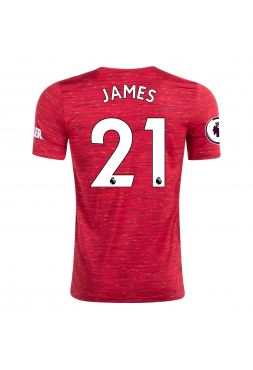 Футболка домашняя Манчестер Юнайтед 2020-2021 James 21 (Дэниел Джеймс)