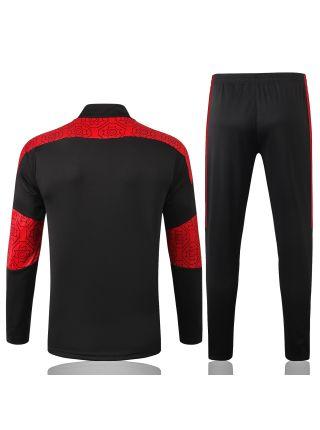 Спортивный костюм черно-красный Милан