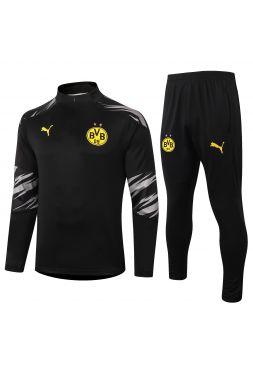 Спортивный костюм черный Боруссии Дортмунд
