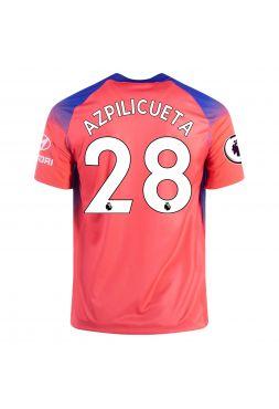 Футболка резервная Челси 2020-2021 Azpilicueta 28 (Сесар Аспиликуэта)