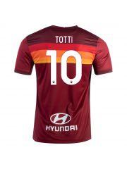 Футболка домашняя Рома 2020-2021 Totti 10 (Франческо Тотти)