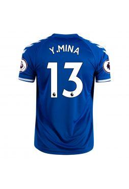 Футболка домашняя Эвертон 2020-2021 У.Mina 13 (Ерри Мина)