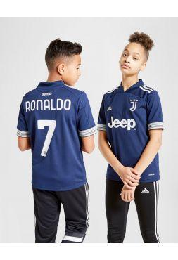 Форма детская гостевая Ювентус 2020-2021 Ronaldo 7 (Криштиану Роналду)