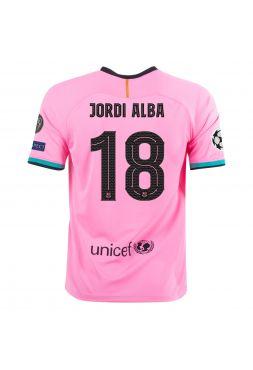 Футболка резервная Барселоны 2020-2021 Jordi Alba 18 (Жорди Альба)