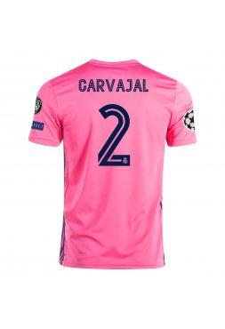 Футболка гостевая Реал Мадрид 2020-2021 Carvajal 2 (Даниэль Карвахаль)